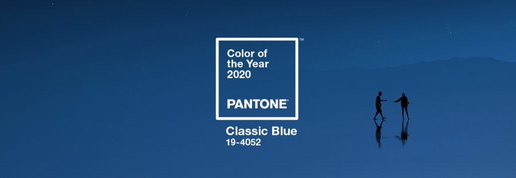 pantone color of the year 2020 classic blue banner