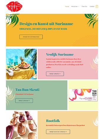 Website Gallery DeKuS designed by Pink Pepper Content